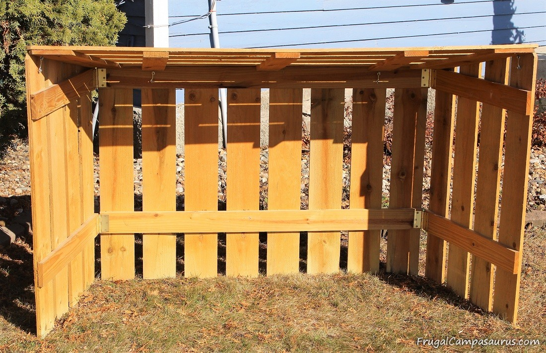 Build A Frugal Outside Nativity Stable, How To Build A Manger For Outdoors